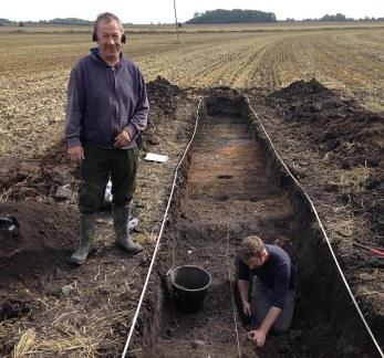 Vicker-Daubney-wykopaliska