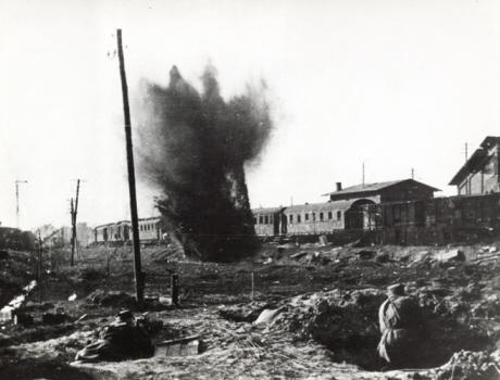 Walki na przedmieściach Kołobrzegu 1945