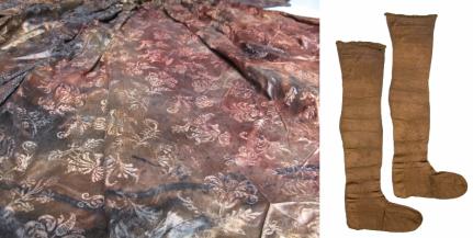 detal sukienki i poncziochy