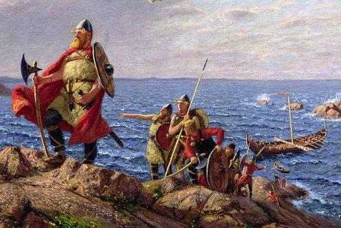Leif-wikingowie-ameryka