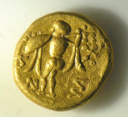 złota moneta z Nowej Cerkwi
