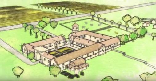 Roman-villa-drawing