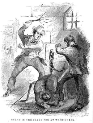 Solomon Northup bity na targu niewolnikow w Waszyngtonie