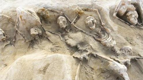 szkielety spod aten