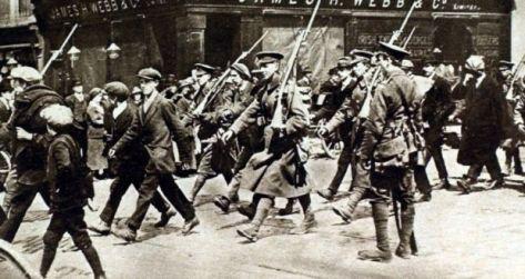 wzieli do niewoli irlandczycy po upadku powstania