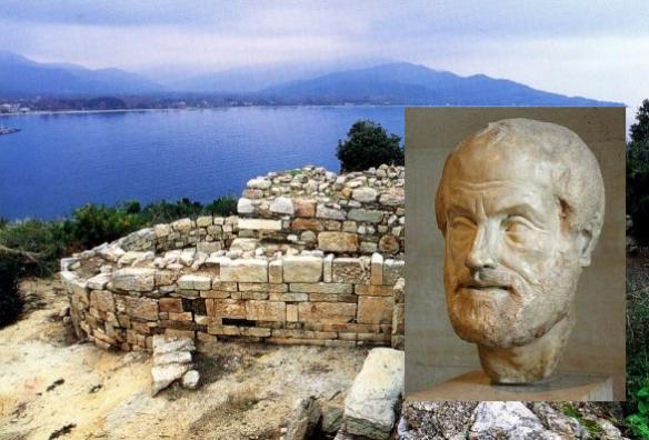 arystoteles grob stagira