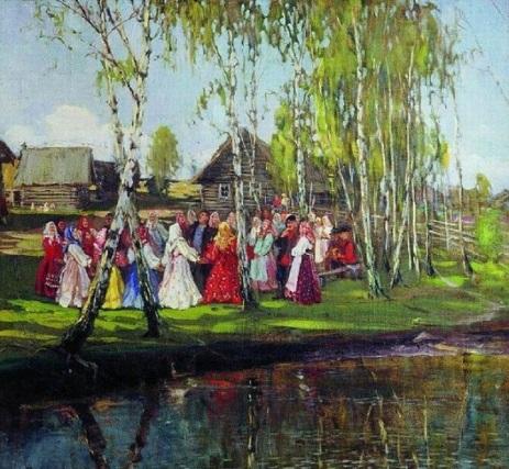 Троицын день 1884 г. Суходольский Петр Александрович