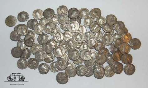 monety rzymskie muzeum Ostroda