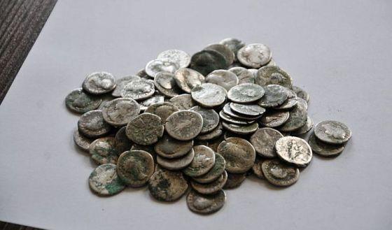 rzymskie denary Kuznica