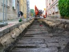 W Gniewie odkryto dębową drogę z XIV wieku z czasówkrzyżackich