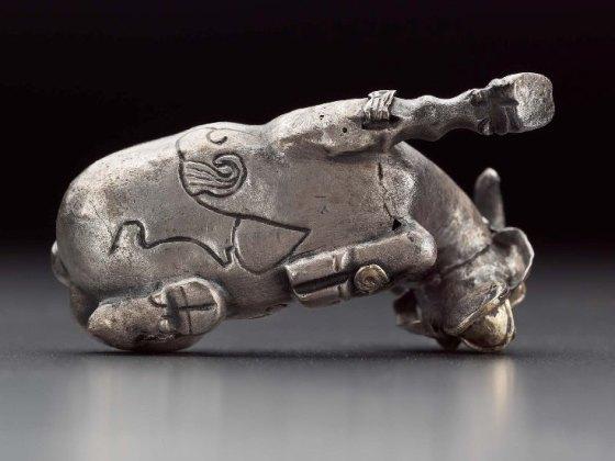 Koza górska Proto-Elamska z Iranu 2