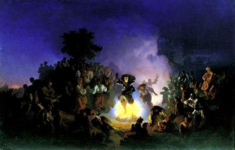 noc kupaly obraz 1856