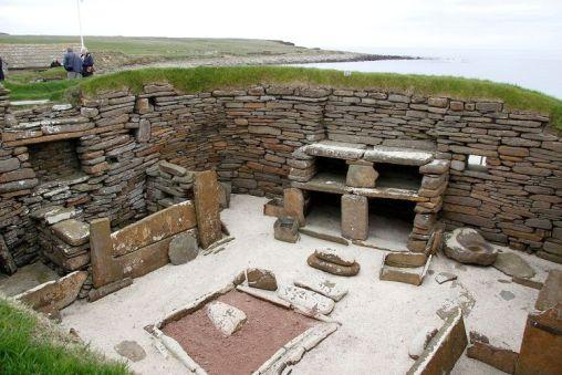Skara Brae neolityczna osada stanowisko archeologiczne