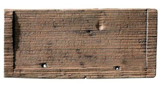 tabliczka rzymska w Londynie 3