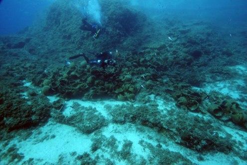 Rzymskie amfory archipelag fourni