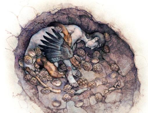 grob szamanki Hilazon Tachtit 1