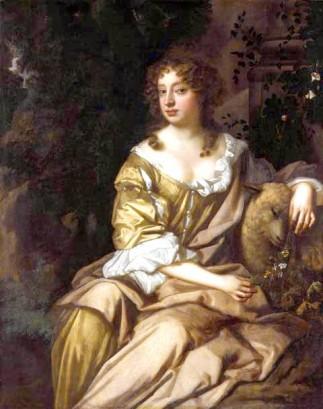 Portret Nell Gwynn Peter Lely 1675