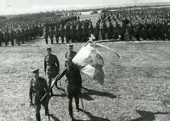 15 lipca 1943 roku, uroczystości zaprzysiężenia 1. Dywizji Piechoty im. Tadeusza Kościuszki