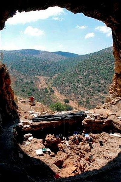 wykopaliska jaskinia Hilazon Tachtit,