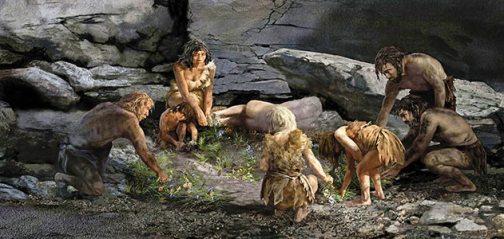arstyczne wyobraznie pochowku neandertalczykow Karen Carr