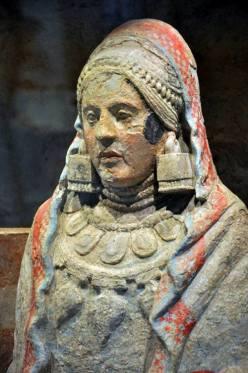 Dama z Bazy sztuka iberyjska, IV wiek p.n.e 1