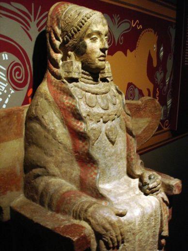 Dama z Bazy sztuka iberyjska, IV wiek p.n.e 2