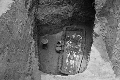 grob chinskiej kobiety Farong Datong