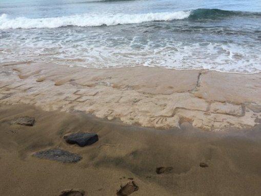 hawaje petroglify Oahu Waianae 3