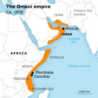Imperium Omanu 1856