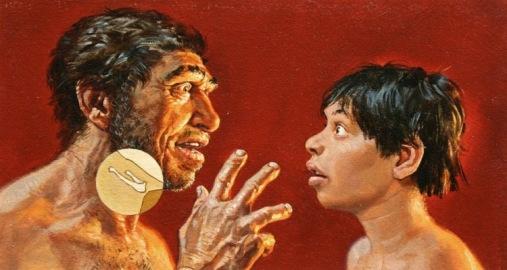 kość gnykowa neandertalczykow mowa