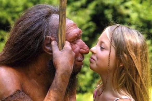 Muzeum neandertalskie w Mettmann w Niemczech fot
