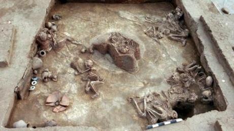 szkielety z Laijing powodz