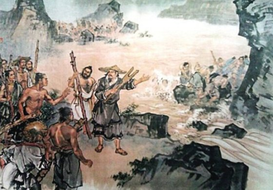Wielki Yu i chinska Wielka Powodz