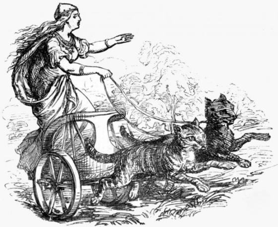 nordycka-bogini-freja-na-kocim-zaprzegu-autor-rysunku-ludwig-pietsch-1865