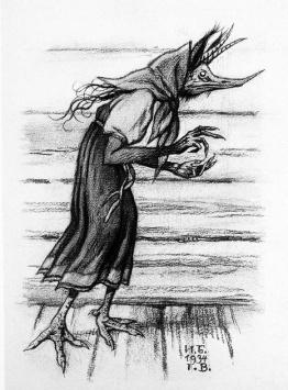 kikimora-obraz-iwan-bilibin-1934
