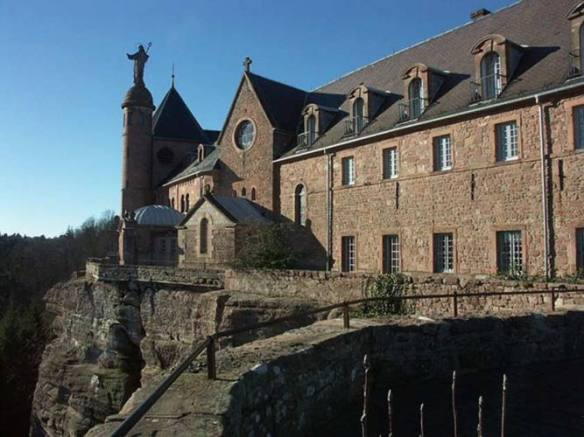 klasztor-mont-sainte-odile
