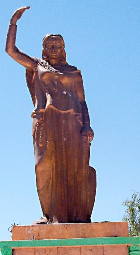 Pomnik Dahli w Chanszali w Algierze. Fot. Wikimedia Commons/Numide05 (CC BY-SA 1.0))