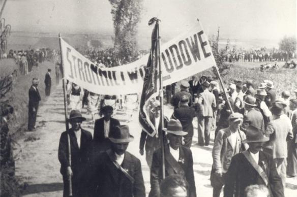 wielki strajk chlopski 1937