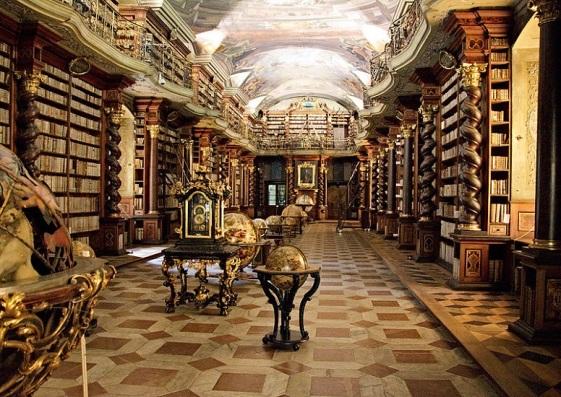 Biblioteka Clementinum 1
