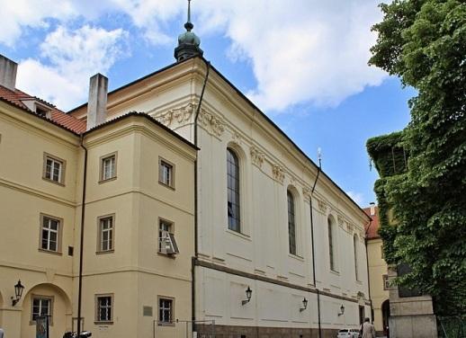 Biblioteka Clementinum 9 Kościół św. Klemensa.jpg