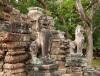 Jedno z wejść do świątyni Banteay Samré w Angkor, XII wiek,Kambodża
