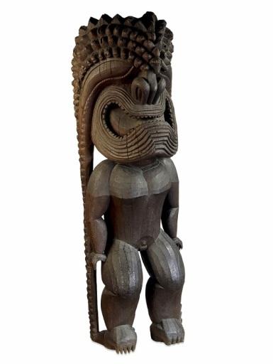 hawajski bog Ku British Museum