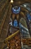 Schody i wnętrze Katedry w Ely,1083-1375